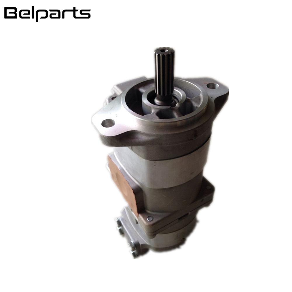 Belparts excavator HD205-3 HD205 hydraulic part transmission pump 705-52-22000 gear pump