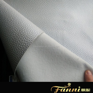 pvc fabric leather for car seat/Vinyl Fabric for Car Seat/Cotton fabric backing synthetic pvc leather for car seat