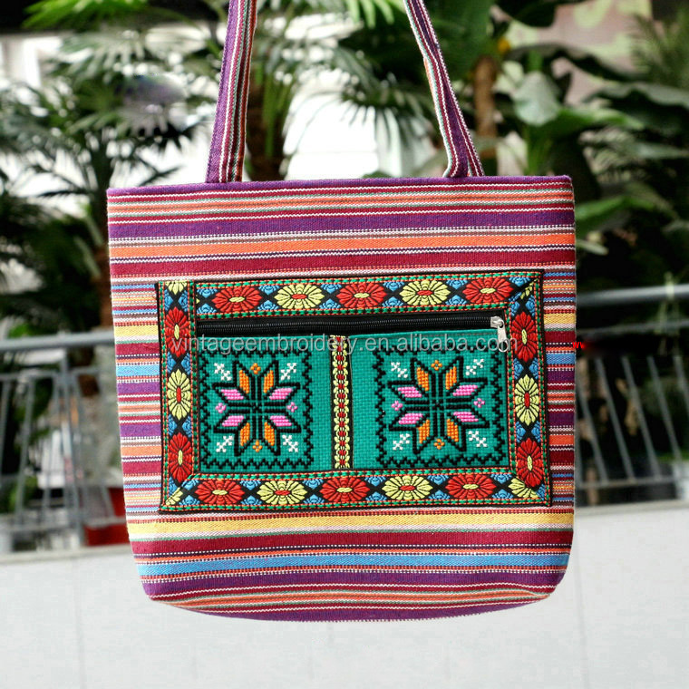 Vintage Traditional Tribal Banjara Gypsy Bohemian Boho Hand Bag, Tote, Purse