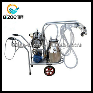 Hand Operated Milking Machine Used in Dairy Farm