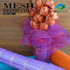 safety net roll plastic packaging material bouquet wrapping mesh