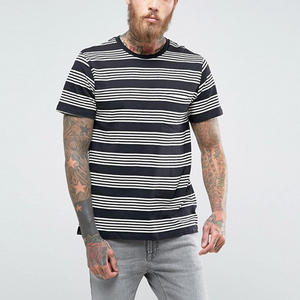 mens clothing oem manufacturer striped t shirt bangladesh