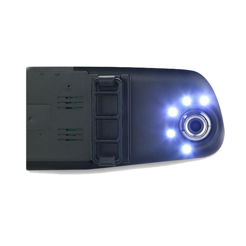 4.3 '' зеркало заднего вида камера авто автомобилей парковка жк-рекордер видео видеокамеры регистратор Full HD 1080 P ночного видения тире камерой