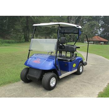 Duurzaam Batterij Power 4 Zits Golfkarretjes Buggy Met Regenhoes