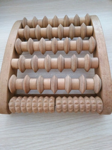 Alibaba China Wholesale toes wooden foot massager