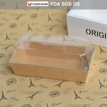 China supplier kraft paper hot dog box