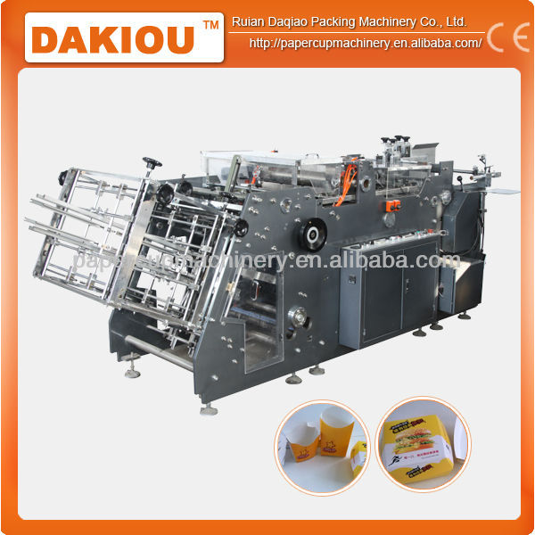 good market of carton box folding gluers machine