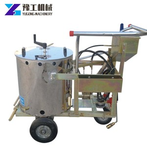 Automatic spray thermoplastic vibration Road Line Marking Machine