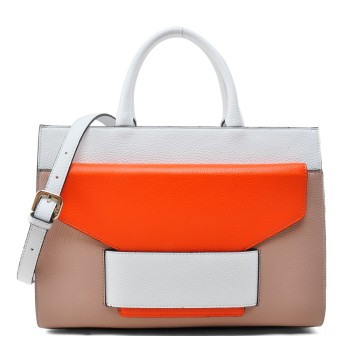 Newest women contrast color bags
