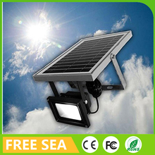 6w led solar powered security light motion sensor flood light for Europe South North America