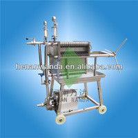 factory supplier coconut oil filter machine