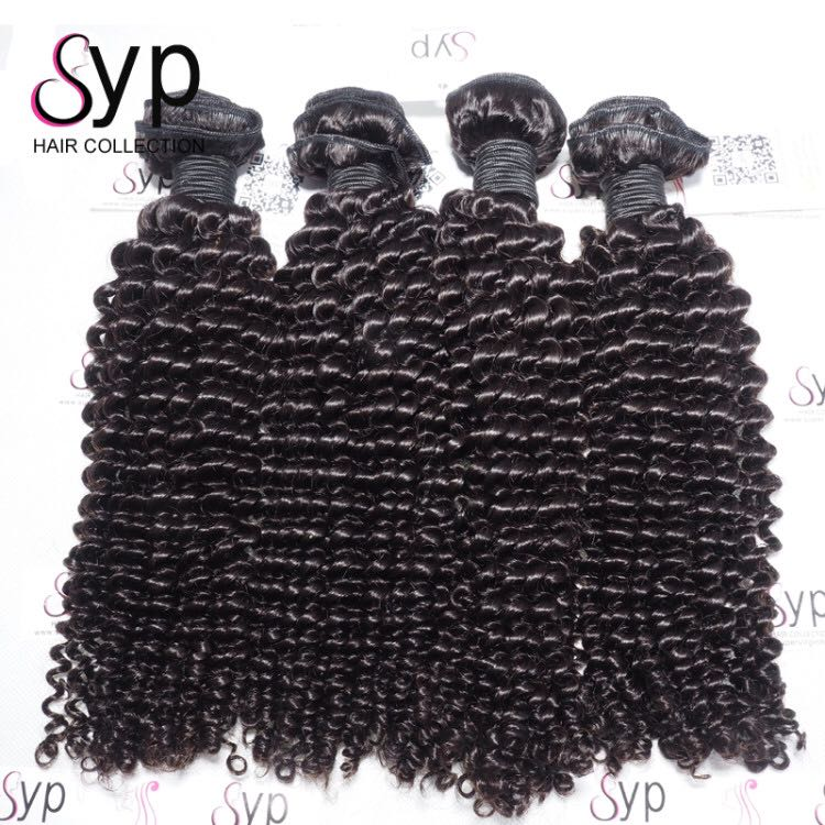 100% Steam Processing Wholesale Afro Kinky Curly Cheap Virgin Human Hair Bundle Deals Extensions