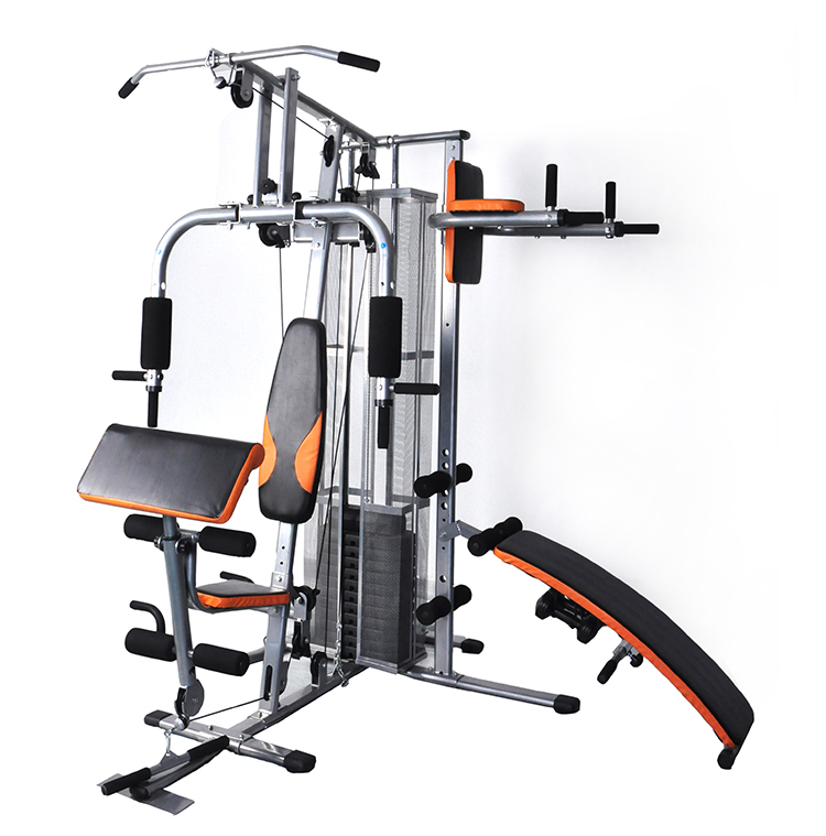 Es-409 Multi Strength Fitness 4 Station Home Gym Equipment ...