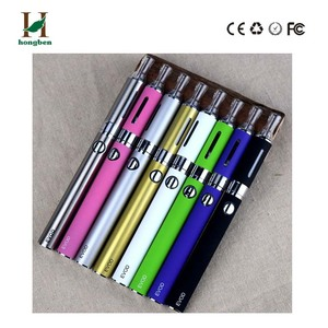 Ecig authentic 510 thread electronic cigarette evod portable dry herb vaporizer vape pen wax and dry herb