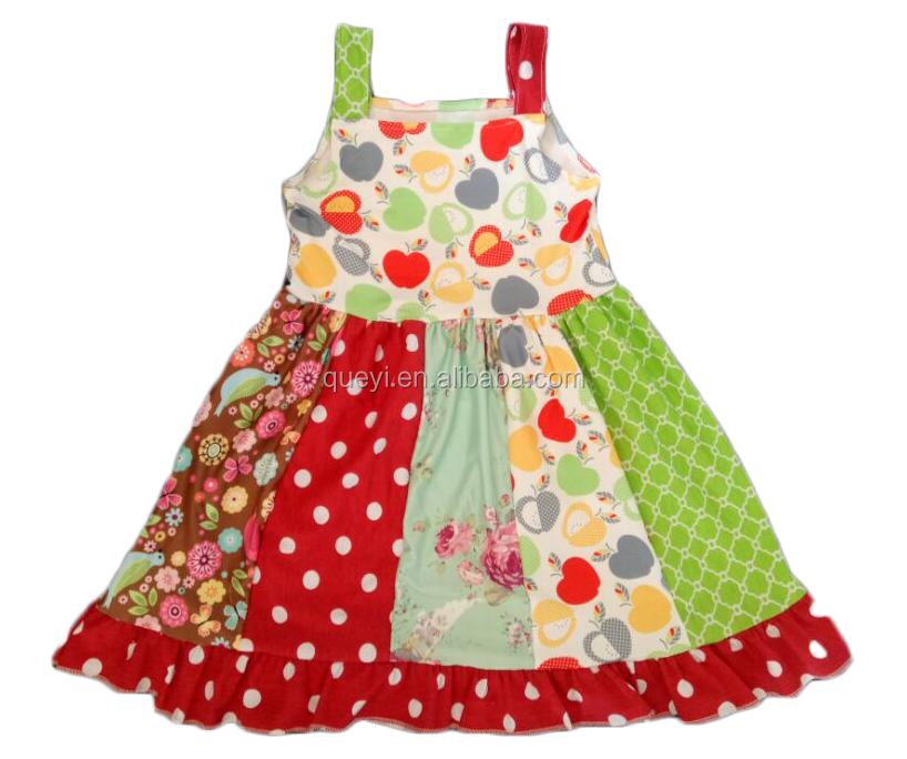 Летнее платье детское платье для малышей Повседневное платье с аппликацией  лисы для девочек оптовая цена a26cd8c188e