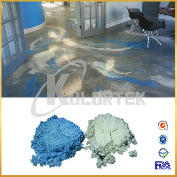 Metallic Effekt Beschichtung Pigment Fur 3d Harz Boden Epoxy Beton