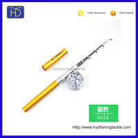 High quality 1.0m Glass fishing pen rod and reel combo
