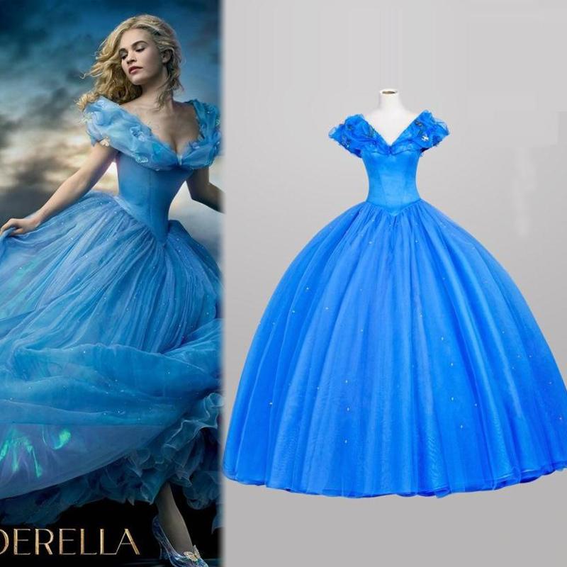 preis auf blue cinderella dress vergleichen online shopping buy low price blue cinderella. Black Bedroom Furniture Sets. Home Design Ideas