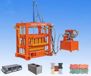 Shandong Shengya Vibrated Manual Concrete Hollow Block