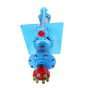 Vertical submersible irrigation well water pump
