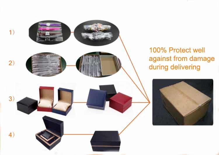neue produkte oem 5 atm wasserdichtes saphirglas edelstahl uhr