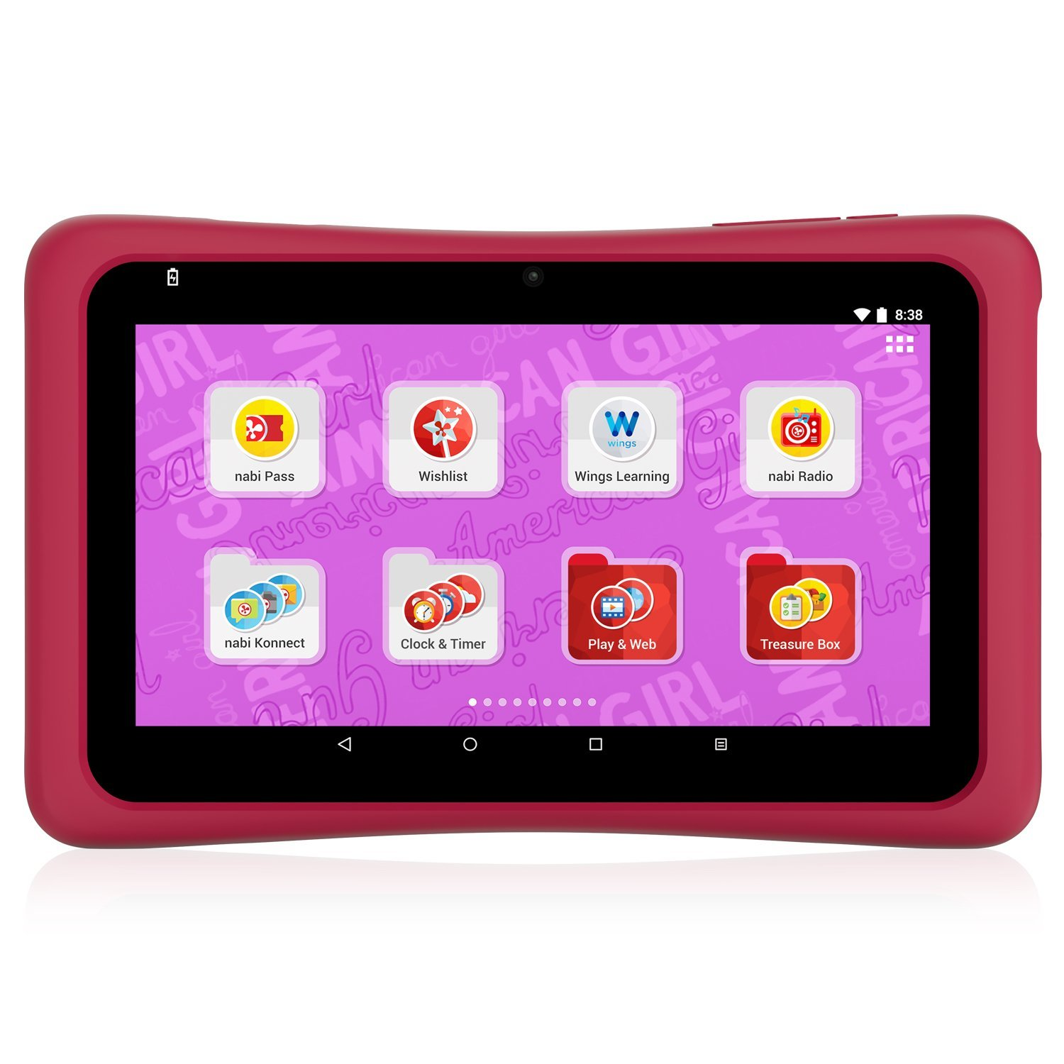 Buy American Girl Tablet  Powered by nabi in Cheap Price on