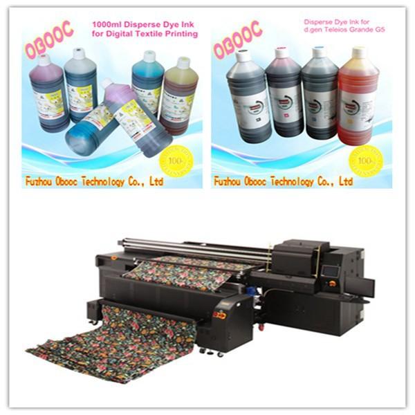 Obooc Supply 1000ml Disperse Dye Ink For D.gen Artrix G5 Digital ...