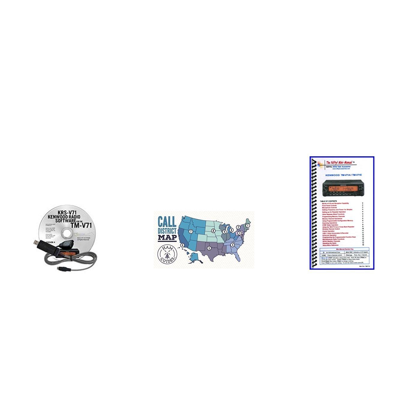 Buy Kenwood TM-V71A Accessory Pack Bundle - - Programming