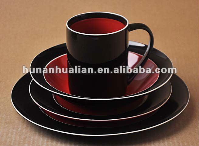 & Red Glass Dinnerware Sets Wholesale Dinnerware Suppliers - Alibaba