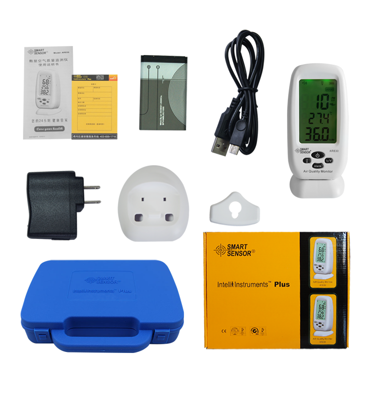Air Monitoring Equipment Air Pollution Tester Indoor Air Quality ...