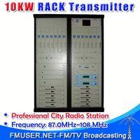 CZH618F-10KW Professional FM Radio Station Software 10000w radio broadcast FM transmitter exciter-RC