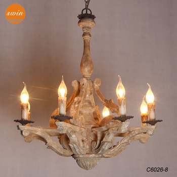 European imperial crown carved wooden chandelier lightingretro rust european imperial crown carved wooden chandelier lightingretro rust wrought iron pendant lamp with ce aloadofball Gallery