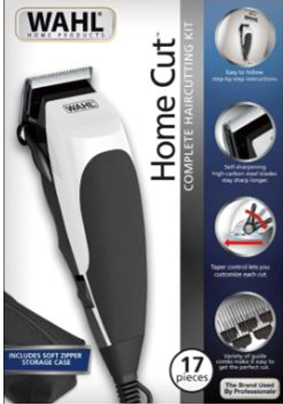Buy Wahl Clipper 9633 502 Complete Hair Cutting Kit 10 Pc