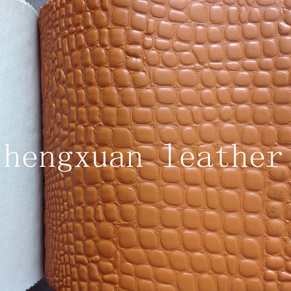 Imitation leather for making handbags