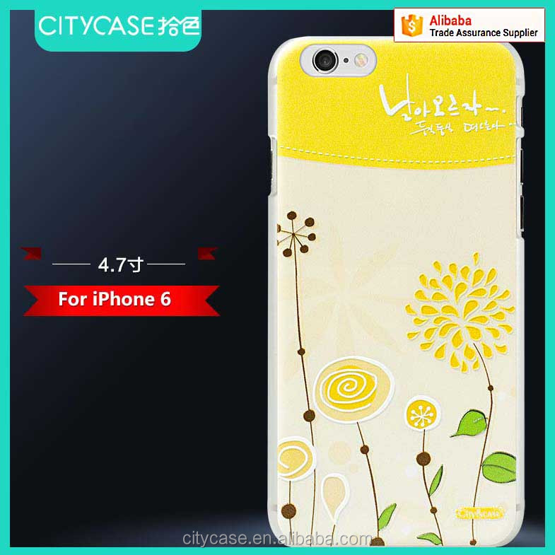 city&case fresh style universal print phone case for iPhone 6