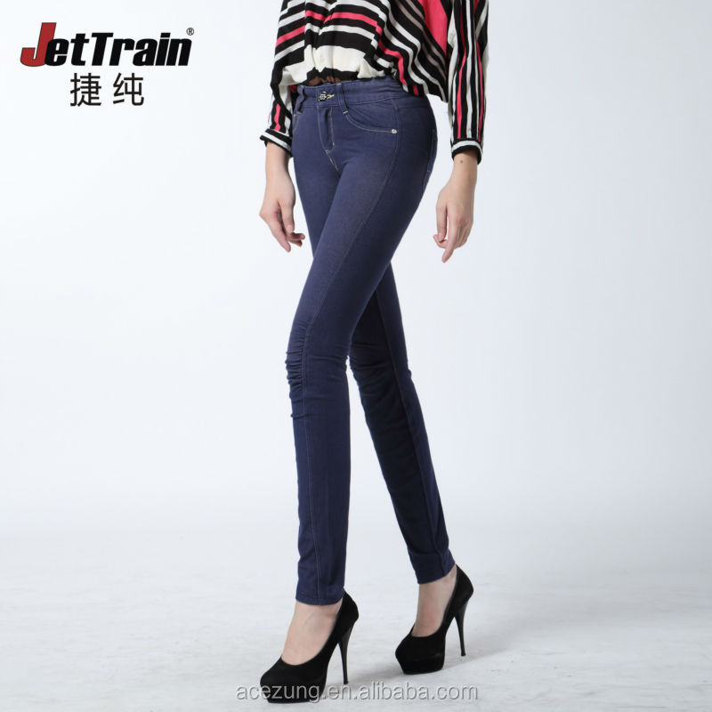 Special women knitted jeans wholesale china new jeans women jean pants SACQK0133B