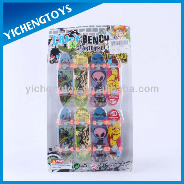 plastic tech deck finger skateboards