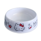round cheap custom print melamine pet food bowl for dog ,cat,pets,small animals