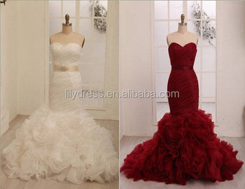Mermaid Real Made Pictures Floor Length Custom Made Long Formal ...