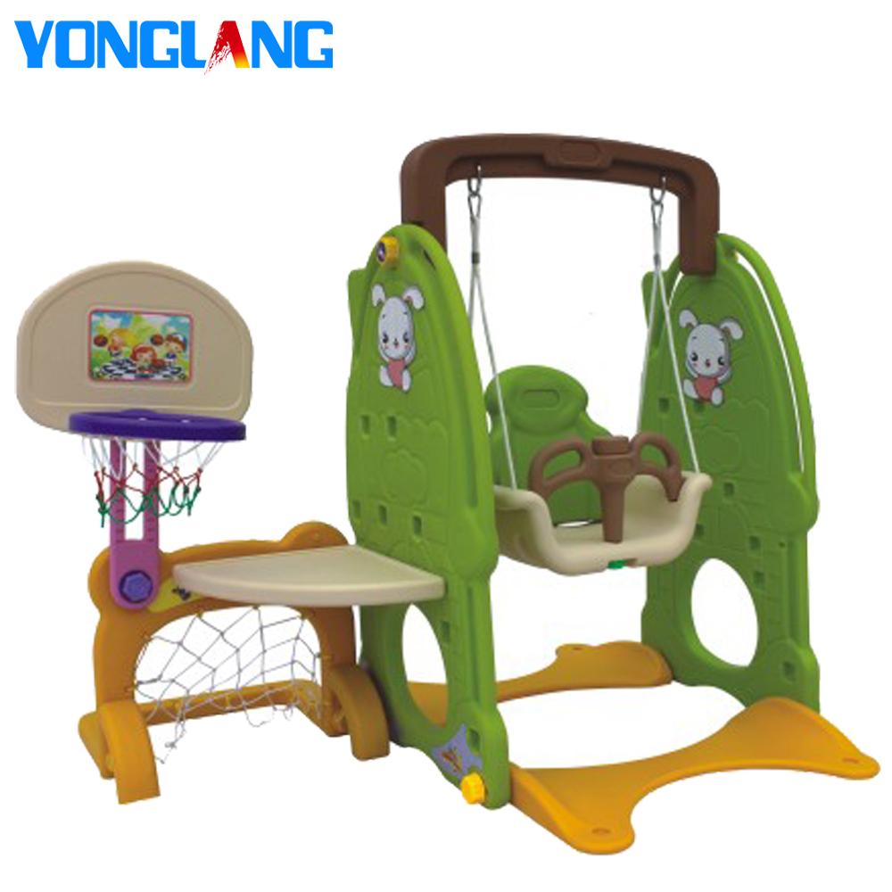 YL-6401 Mini Bord en Swing Samen Kids Indoor Patio Swing Stoel