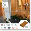 WPC/Wood Plastic Composite Interior Decorative Materials Timber Wood Tube Strips for Home Decoration in Rucca 100*35(3mm)