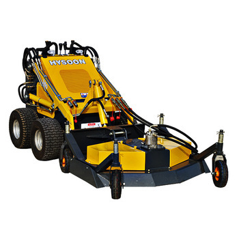 CE approved mini loader lawn mower attachment