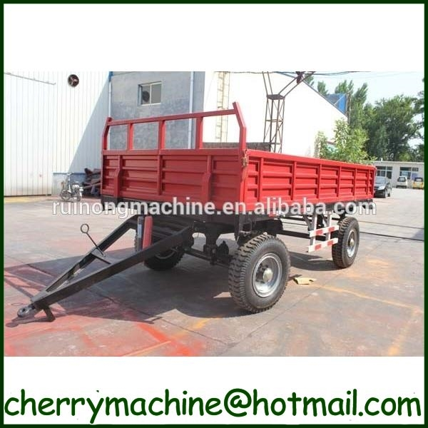 agricultural machine 5 ton 2 sides tipping farm trailer for sale