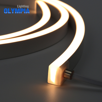 Side View Flat Surface Led Neon Flexible Light Strip For Outdoor Decoration