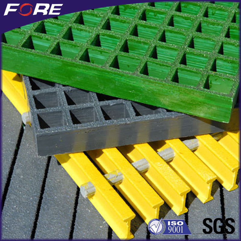 FRP GRP grating machine manufacture molded frp grating used in chemical plant