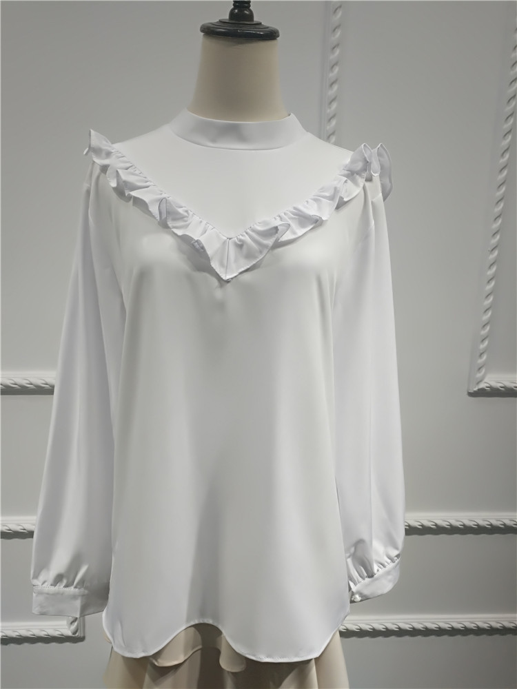 New arrival high quality fashion design  muslim ladies blouse tops for women