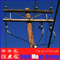 High quality 25ft Wooden Transmission and Utility Poles ,Wooden Electric power poles