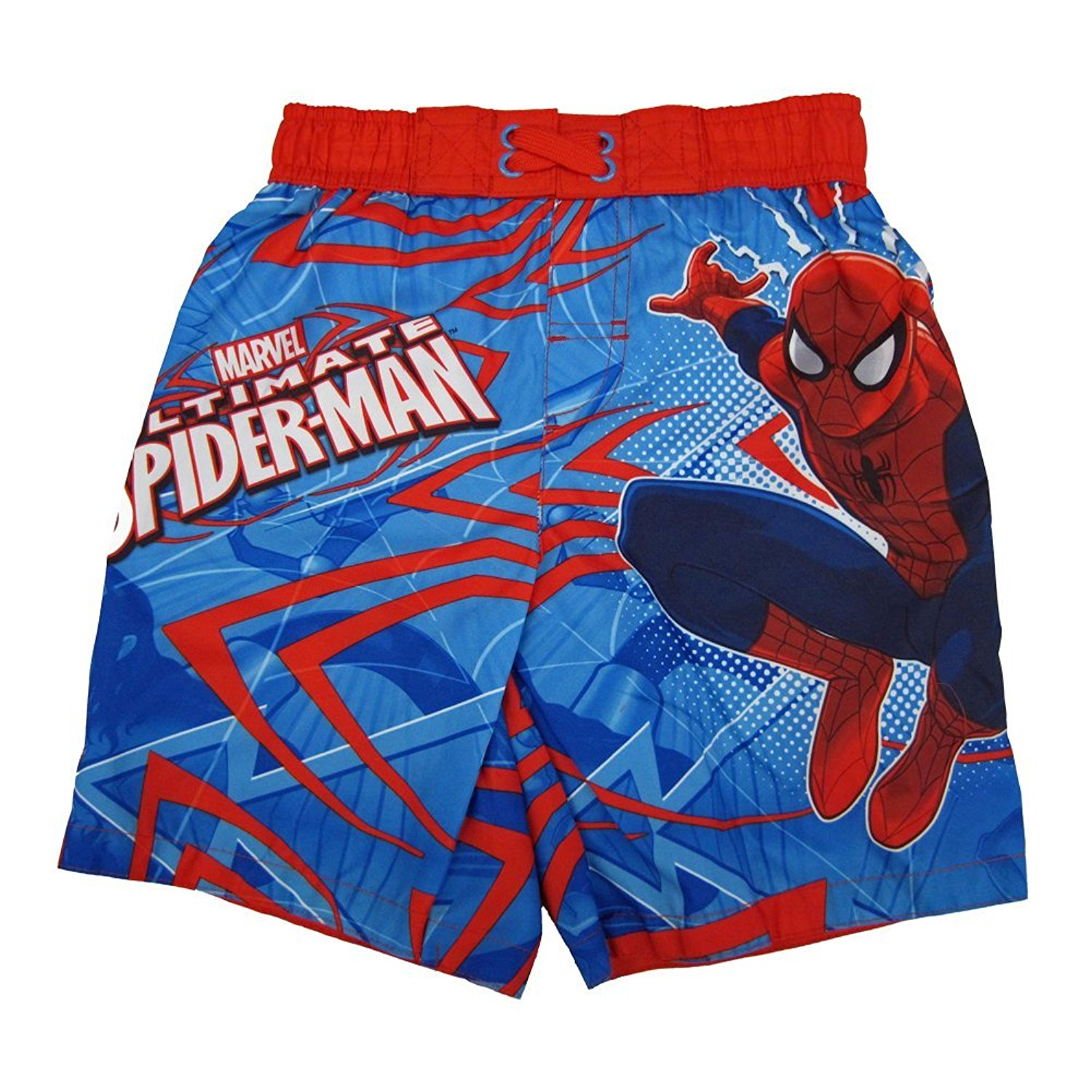 Licensed Boys Justice League Swim Shorts Trunks Ages 3-10