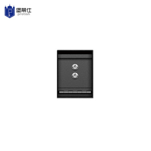 Mini key lock undercounter safe box (STB20-2K2)