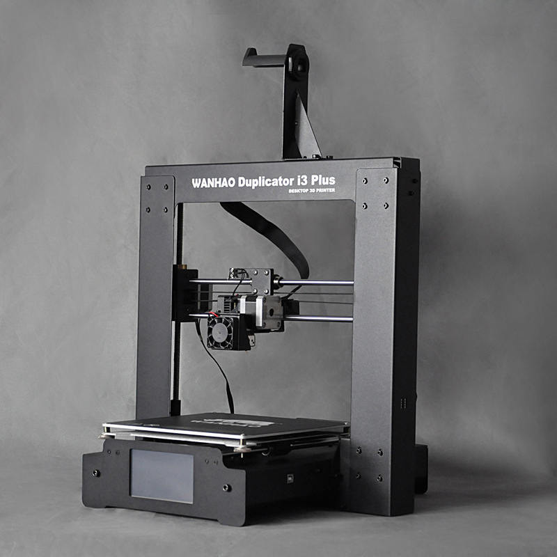 Duplicator i3 Plus WANHAO 3d Printer, DIY KIT 3D Machine With Single Extruder, Factory Supply